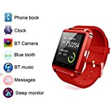 Samsung Galaxy S8 Plus Compatible Smartwatch Bluetooth / Touch Screen / Microphone / Fitness Features / Multimedia Functions / Call, Answer Call, Reject Call / Connectivity / Rechargeable Battery / Notifications & Controls / Supported Operating System