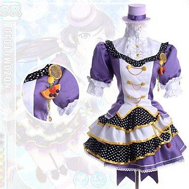 Kostüm Nozomi Cosplay Tojo (Love Live Nozomi Tōjō Cosplay Kostüm, Größe L: Höhe)