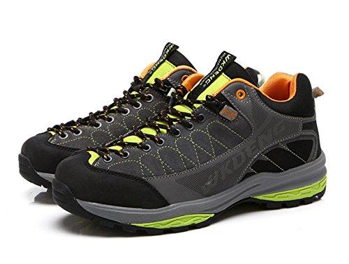Chaussures De Randonnée Pour Homme Chaussures De Sport à Lacets D'hiver Chaudes Gris