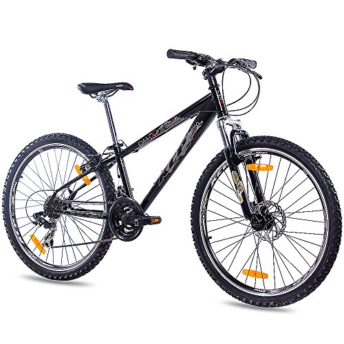 "KCP 26\"" Zoll MTB Dirt Bike JUGENDRAD Fahrrad Dirt ONE mit 21G Shimano schwarz"