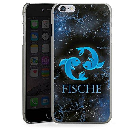 Apple iPhone X Silikon Hülle Case Schutzhülle Sternzeichen Fische Astrologie Hard Case anthrazit-klar