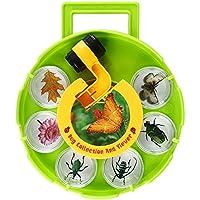 SainSmart Jr. Bug Raccolta E Visualizzatore Di Campi Microscopio, Disco che ruota Magnifier, Fumetto Amplificazione Esperimento Tool, Sei Tazze