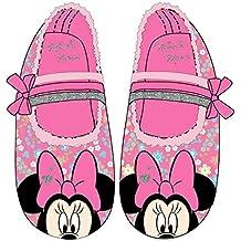 Minnie - Zapatillas de Estar Por Casa de 100 % poliéster Niñas
