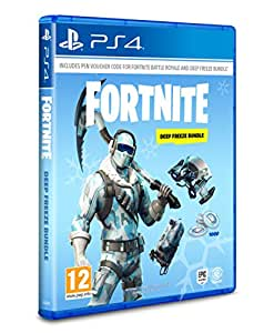 Fortnite: Deep Freeze Bundle - [PlayStation 4] -(Code in the Box)