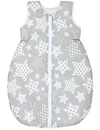 Dkaren Schlafsack für Kinder für jeden Tag aus 100% Baumwolle jeder Größe verfügbar (74-134cm)