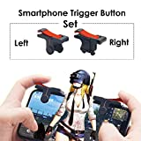 #4: Zantec Gaming Trigger L1R1 Mobile Phone Aiming Fire Button Shooter Controller for PUBG