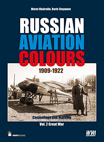 Russian Aviation Colours 1909-1922: Camouflage and Markings por Marat Khairulin