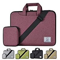 KALIDI 11 Inch Shoulder Carry Bag for 10 inch to 11 inch Laptop Notebook Red