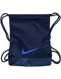 Nike Vapor 2.0 Gym Sack Polyester Lightweight Soccer Yoga Fitness Navy Bag  Pack 74a68db6dc433