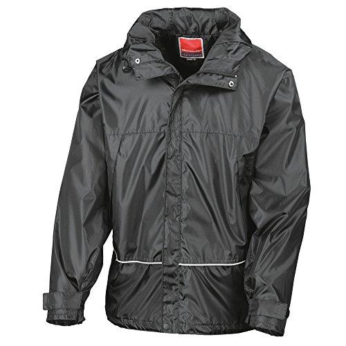 Result Waterproof 2000 pro-coach jacket Black