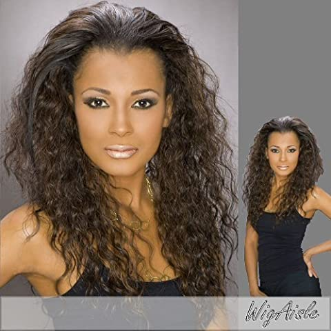 SASHA (Carefree Collection) - Synthetic Half Wig in OFF BLACK by Alicia International Inc.
