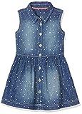 s.Oliver Mädchen Kleid Kurz 53.703.82.2632, Blau (Blue Denim Non Stretch 55Y3), 104