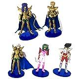 ONOGAL I cavalieri dello zodiaco caratteri 12 cm Pegasus (Seiya), Andromeda (Shun), Ram (Mu), Scorpion (Milo) e Leo (Aioria) 4704