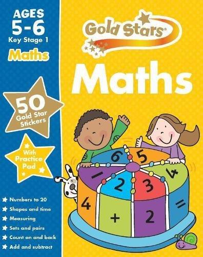 Gold Stars Maths Ages 5-6 Key Stage 1 (Gold Stars Ks1 Workbooks)