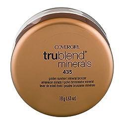 Cover Girl Trublend Minerals 435 Golden Sunrise Mineral Bronzer, 0.63 OZ