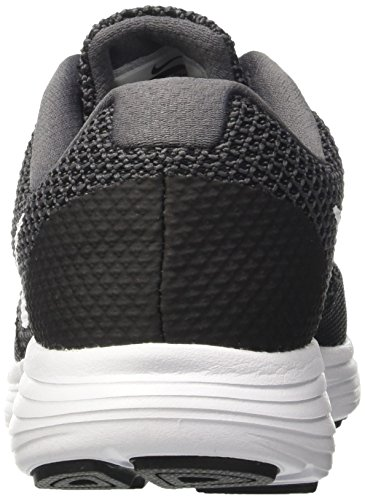 Nike Damen Revolution 3 Laufschuhe Schwarz (Dark Grey/white Black)