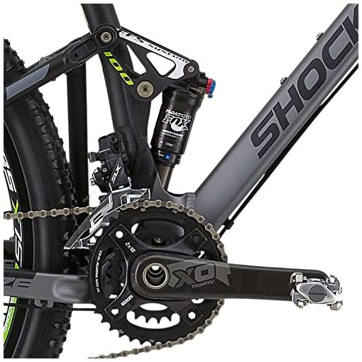 "Shockblaze BK13SB1541 Enemy Elite 29"" Mountain Bike, Grigio"