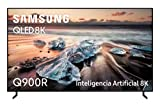 Samsung QLED TV 8K 85Q900R - Resolución QLED 8K 85', Inteligencia Artificial, HDR 4000, Smart TV, One Remote Control Premium