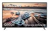 Samsung QLED TV 8K 65Q900R - Resolución QLED 8K 65', Inteligencia Artificial, HDR 3000, Smart TV, One Remote Control Premium