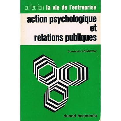 Action psychologique et relations publiques