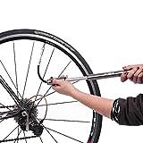 Mountainbike Pumpe, Universal Mini Fahrrad Reifen Pumpe mit Hochdruck 160 PSI für Berg / Straße / Racing / Travel Fahrradreifen, Presta und Schrader Valve Kompatibel Rennrad Pumpe Radfahren Zubehör