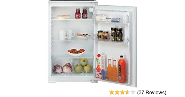 Kühlschrank Integrierbar Ohne Gefrierfach : Bauknecht kri einbaukühlschrank a kwh jahr kühlen