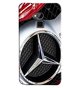 Omnam Mercedes Logo Printed Back Cover Case For HTC One Max