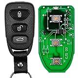 Auto Schlüssel Funk Fernbedienung 1x Funk Gehäuse + 1x 434 MHz Sender Sendeeinheit + 1x Batterie für Hyundai Sonata KIA Sorento Magentis