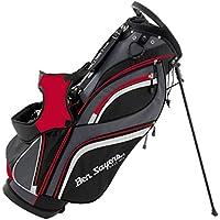 Ben Sayers Men's 14 Way Divider Stand Bag - Black/Red