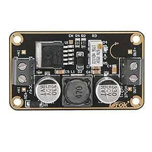 DROK® 2pcs Convertitore di potenza 3V / 24V / 40V del trasformatore 3A di potere DC-DC per il modulo duribile di Buck mini modulare Step-down di potere di 1.23V / 9V / 12V / 37V Regolatore di Tensione