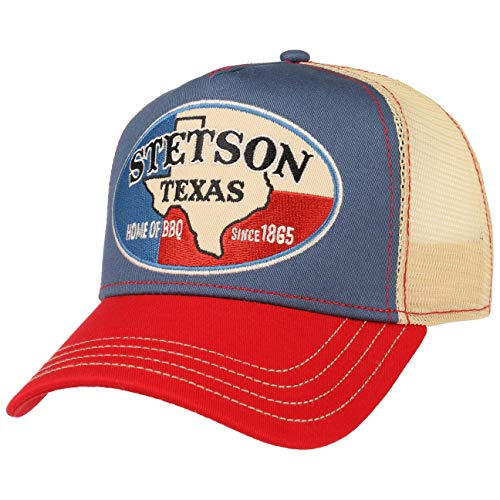Stetson Gorra Trucker Texas Home of BBQ Mujer Hombre  bdadbcc0427
