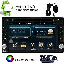 Eincar Android 6.0 radio de coche est¨¦reo 2 unidad principal Din Car DVD reproductor de CD con una funci¨®n de ayuda WIFI GPS Sat Navi, MirrorLink, FM AM RDS, SWC, USB SD, DAB (Ven con una c¨¢mara de copia de seguridad gratuito)
