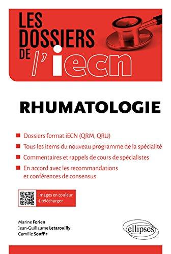 Rhumatologie par Marine Forien, Jean-Guillaume Letarouilly, Camille Souffir