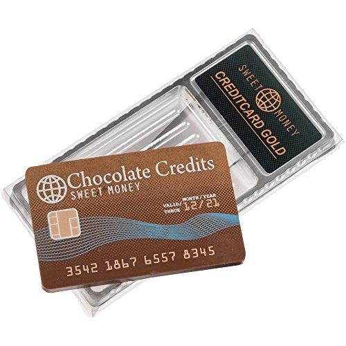 Geschenkpackung Schokoladen Kreditkarte 25g