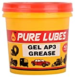#1: Pure Lubes Gel AP3 Grease Petrol/Diesel Lubricants (500 Gms)