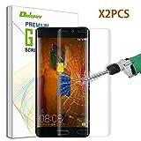 Huawei Mate 9 Pro Pellicola Protettiva, Dokpav® 2PCS Ultra Sottile 3D Termoresistente Pellicola Protettiva Vetro Temperato per Huawei Mate 9 Pro - Colore Trasparente