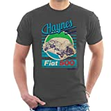 Haynes Workshop Manual Fiat 500 Blue Stripe Men's T-Shirt