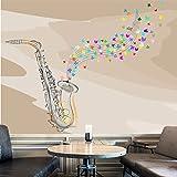 Jazz-Saxophon-Wandbild-Musik-Foto-Tapete-Schlafzimmer-Haus-Dekor-Erhltlich-in-8-Gren-Riesig-Digital