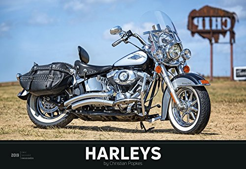 Harleys 2019 - XL-Bildkalender: by Christian Popkes