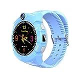 9Tong Smartwatch para Niños GPS Tracker Llamada SOS Anti-perdida Relojes Inteligentes para niños niñas Pantalla táctil Reloj Inteligente para niños para Regalo