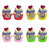 Partilandia Gafas Cupcake de Fiesta Accesorio Fiesta