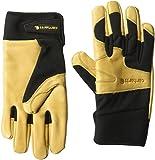 Best Carhartt Gloves For Men - Carhartt Men's Lined Dex Cow Grain Glove, black/Brown Review