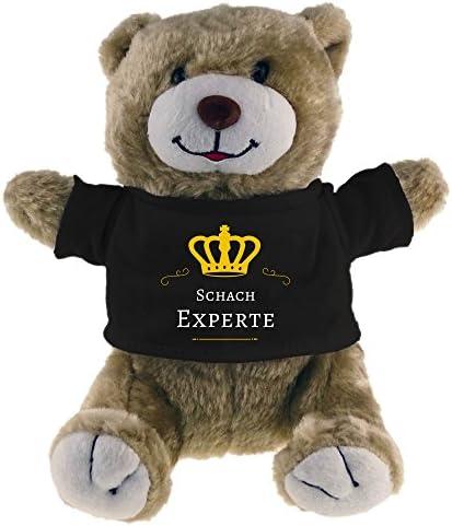 Nouvel An Offre Offre Offre de fête de nuit de carnaval au nouvel an Doudou ours échecs expert beige B00WA3MQP2 855a54