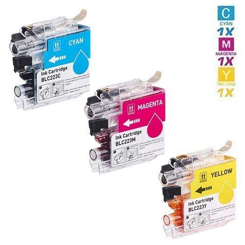Preisvergleich Produktbild 3 HOCHLEISTUNGS DRUCKERPATRONEN mit 50% höhere DRUCKLEISTUNG nach ( ISO/ Norm IEC 24712 ) ersetzen LC223C, LC223M, LC223Y ,Keinerlei Probleme, Druckqualität wie Originalpatrone, für BROTHER DCP-J4120DW BROTHER DCP-J562DW , MFC-J1100 , MFC-J1140W , MFC-J1150DW , MFC-J1170DW , MFC-J1180DWT , MFC-J4420DW , MFC-J4425DW , MFC-J4620DW , MFC-J4625DW , MFC-J480DW , MFC-J5320DW , MFC-J5600 , MFC-J5620DW MFC-J5625DW , MFC-J5720DW , MFC-J680DW , MFC-J880DW