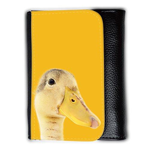 Portemonnaie Geldbörse Brieftasche mit // Q05760602 Entleinkopf Bernstein // Medium Size Wallet (Bernstein Herren-geldbörsen)