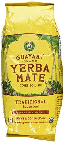 Traditionelle Yerba Mate (Yerba Mate, lose Blatt-Tee, 16 Unzen (454 g) - Guayaki)
