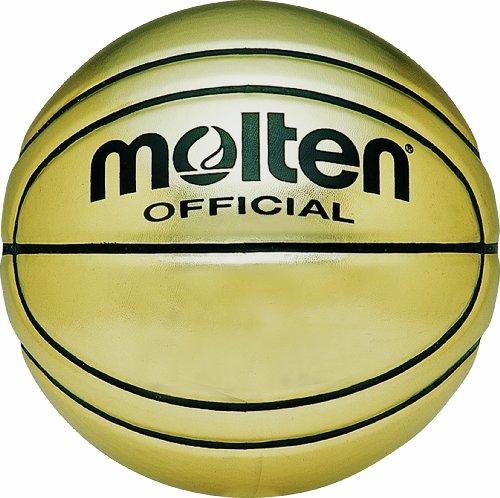 Molten Gold Presentation Ballon de Basketball Doré Taille 7