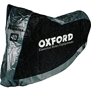 Oxford Anniversary Aquatex Waterproof Motorcycle Cover Protection Medium