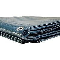 Lona para piscina redonda diám. 6,20m (con desagüe)–cobertor de piscina–lona impermeable–lonas para piscina