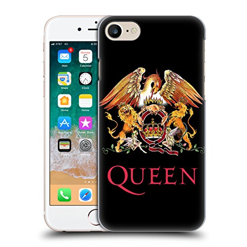Head Case Designs Ufficiale Queen Stemma Arte Chiave Cover Retro Rigida per iPhone 7 / iPhone 8